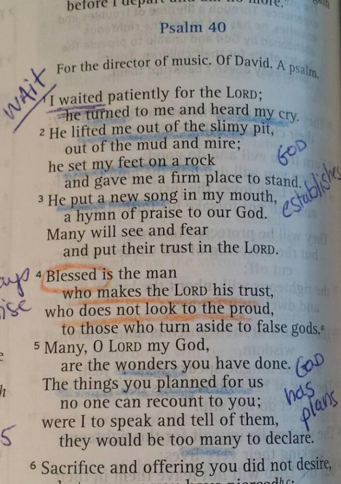 Psalm40